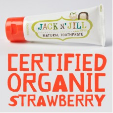 JACK N' JILL 純天然牙膏(士多啤梨味) / Natural Toothpaste (Strawberry Flavor)